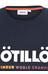 ÖTILLÖ Peach - T-shirt manches courtes Homme - bleu